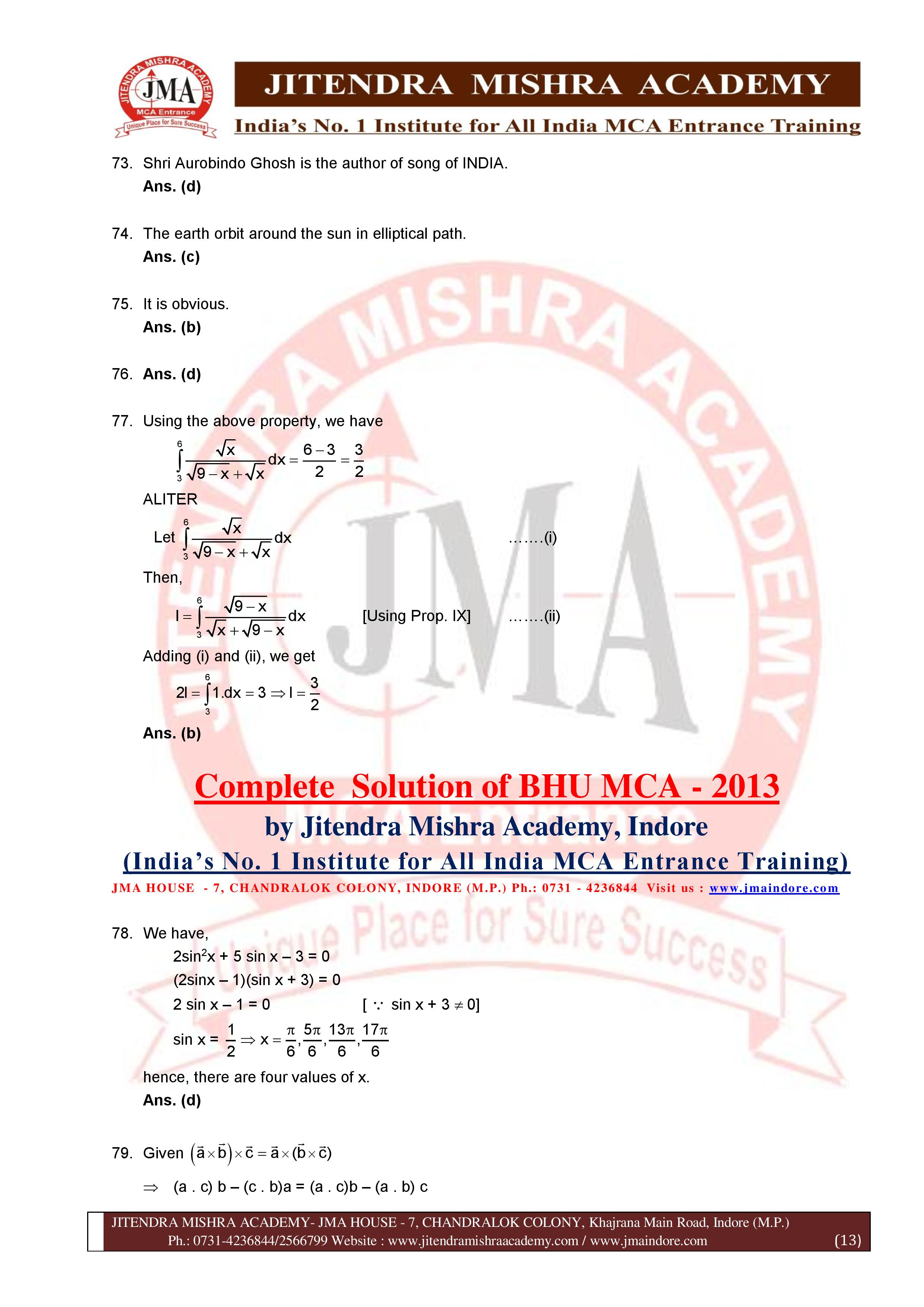 BHU 2013 SOLUTION (SET - 3) (06.07.16)-page-013