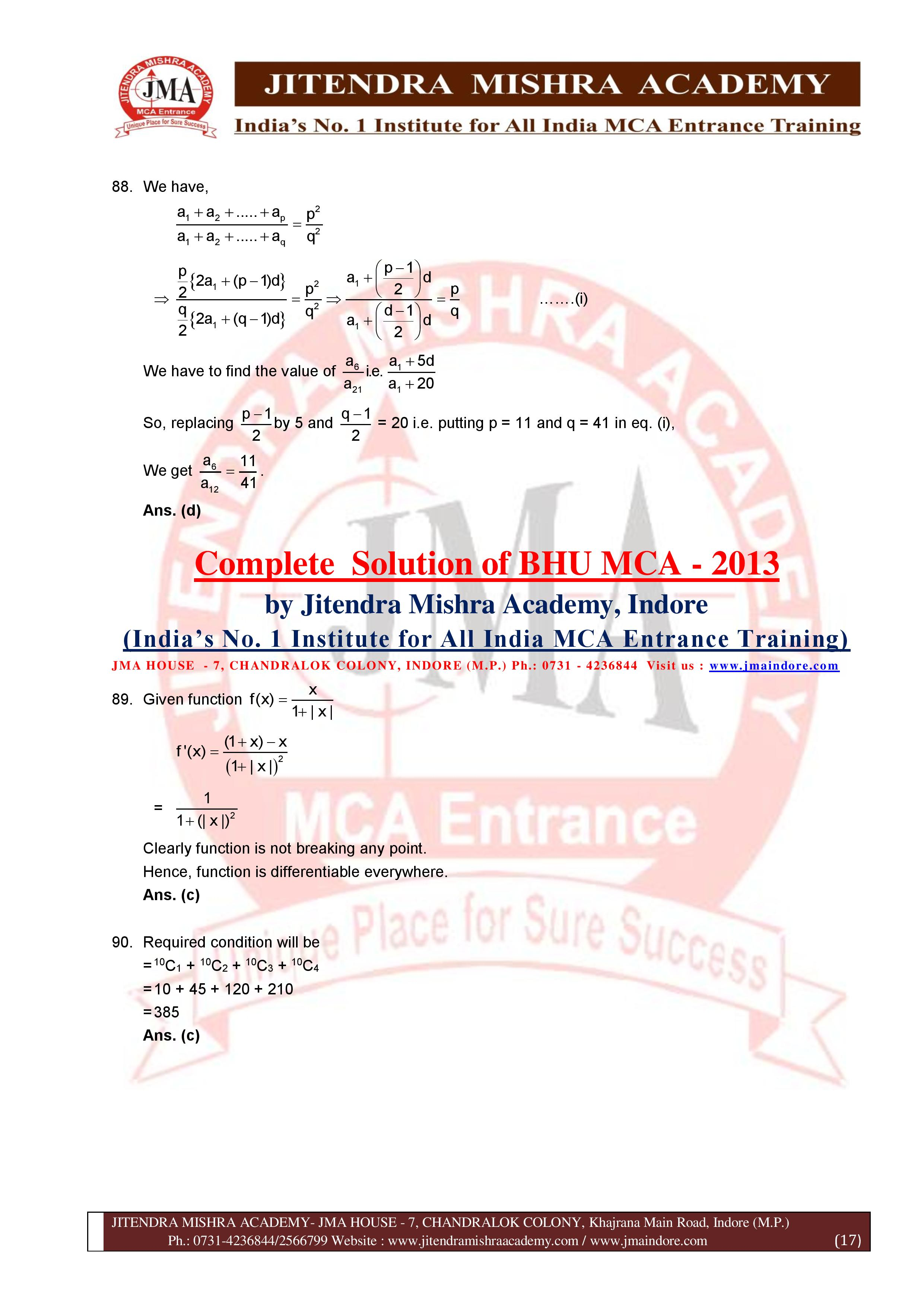 BHU 2013 SOLUTION (SET - 3) (06.07.16)-page-017