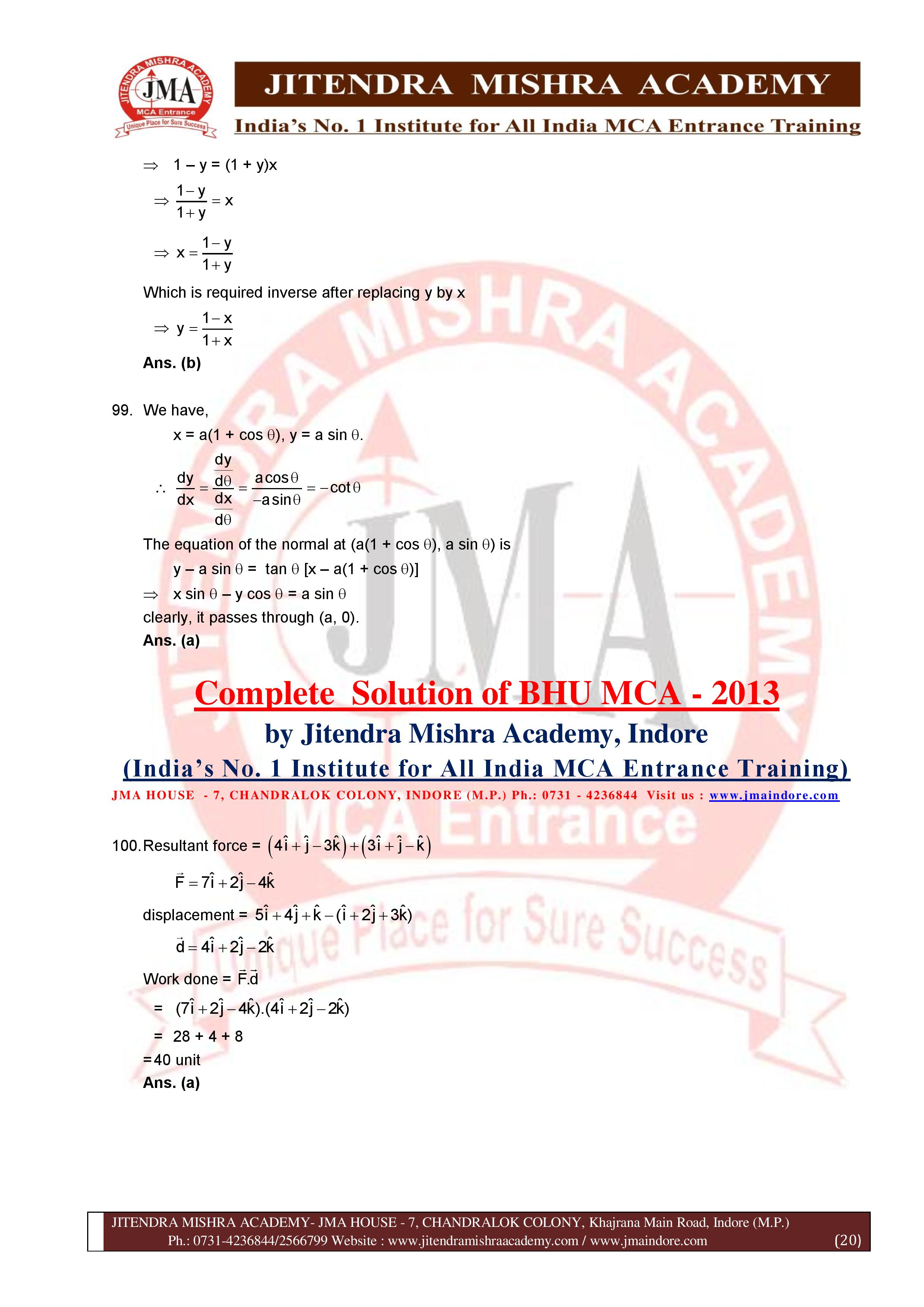BHU 2013 SOLUTION (SET - 3) (06.07.16)-page-020