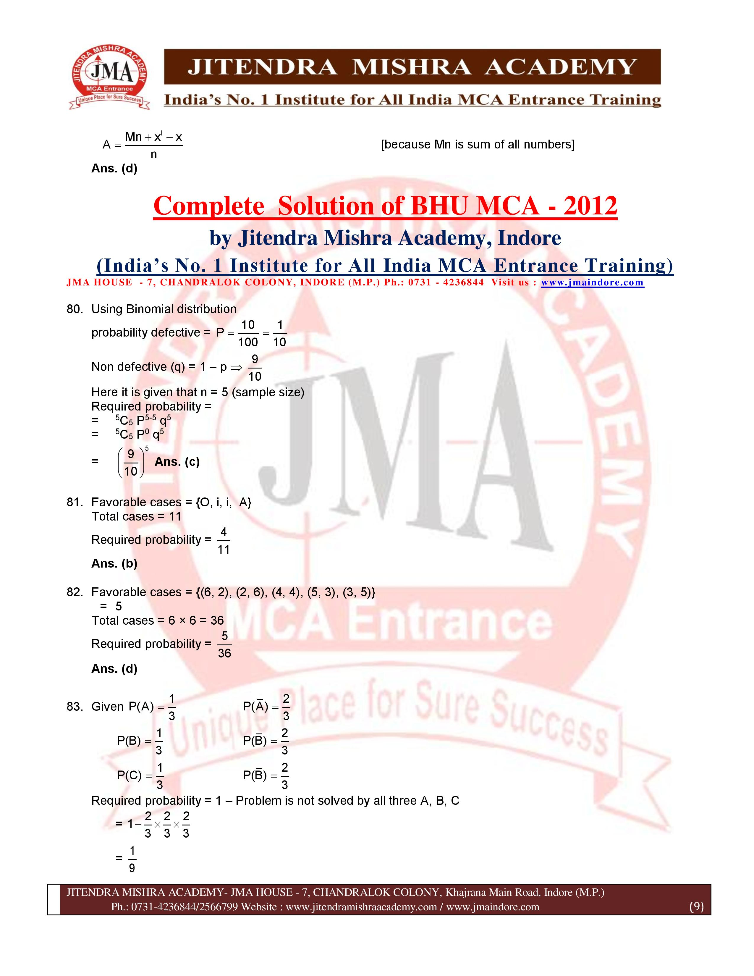 BHU 2012 SOLUTION (SET - 2) (07.07.16)-page-009