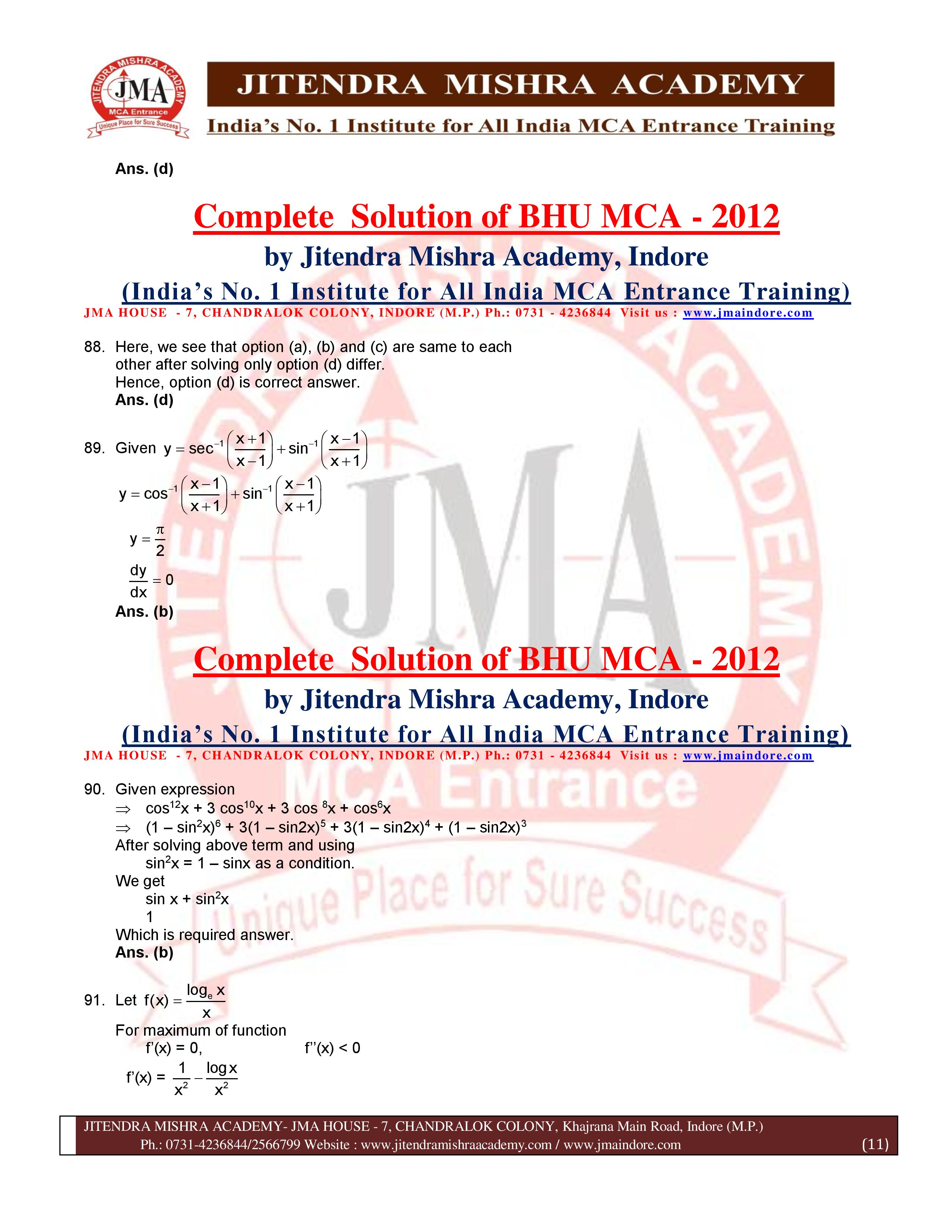 BHU 2012 SOLUTION (SET - 2) (07.07.16)-page-011