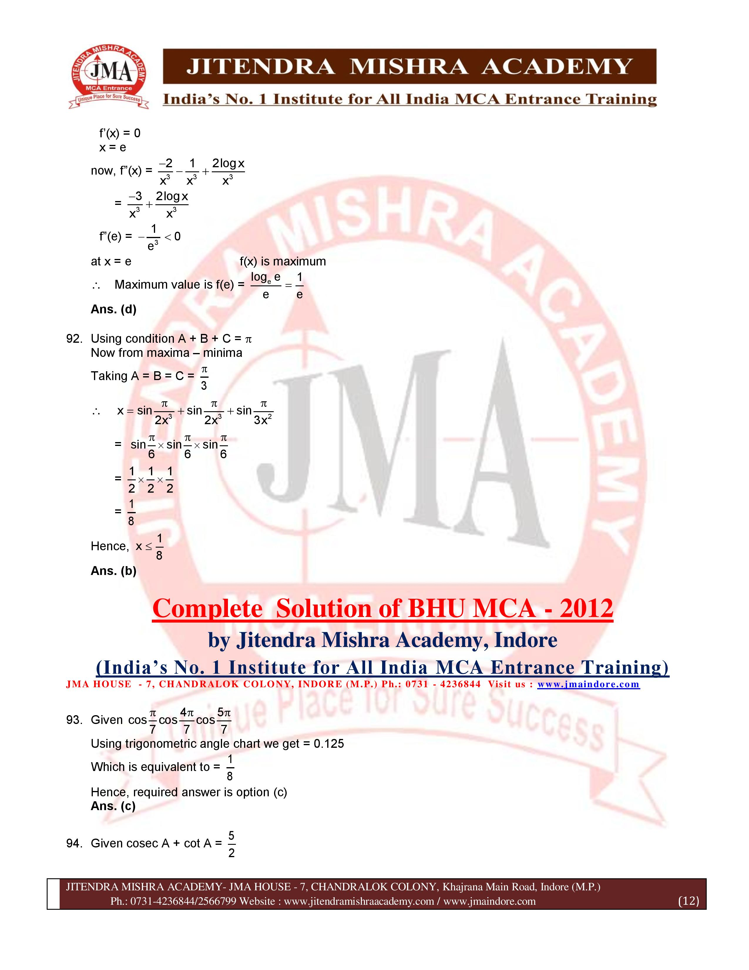 BHU 2012 SOLUTION (SET - 2) (07.07.16)-page-012