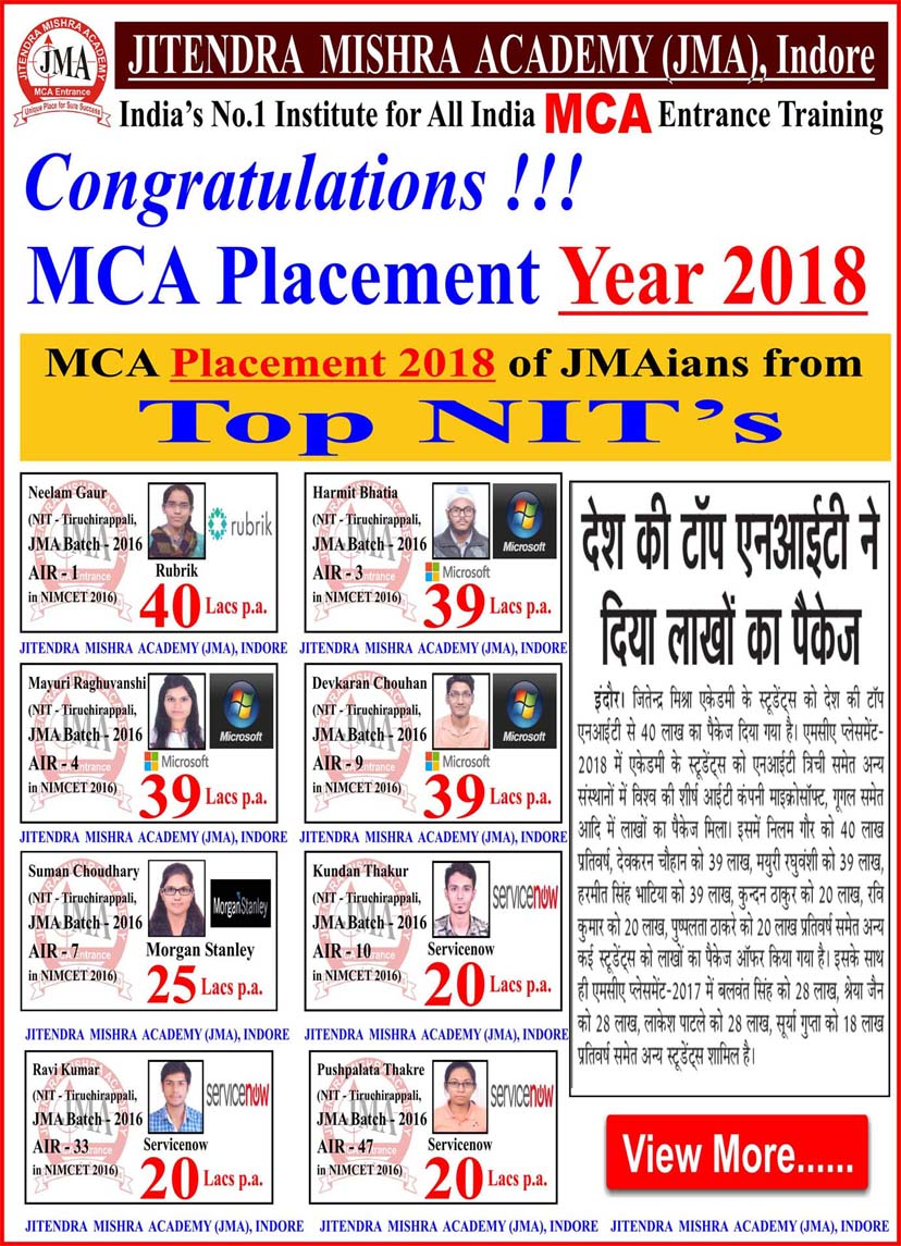 Jitendra Mishra Academy, India's No  1 Institute for Best