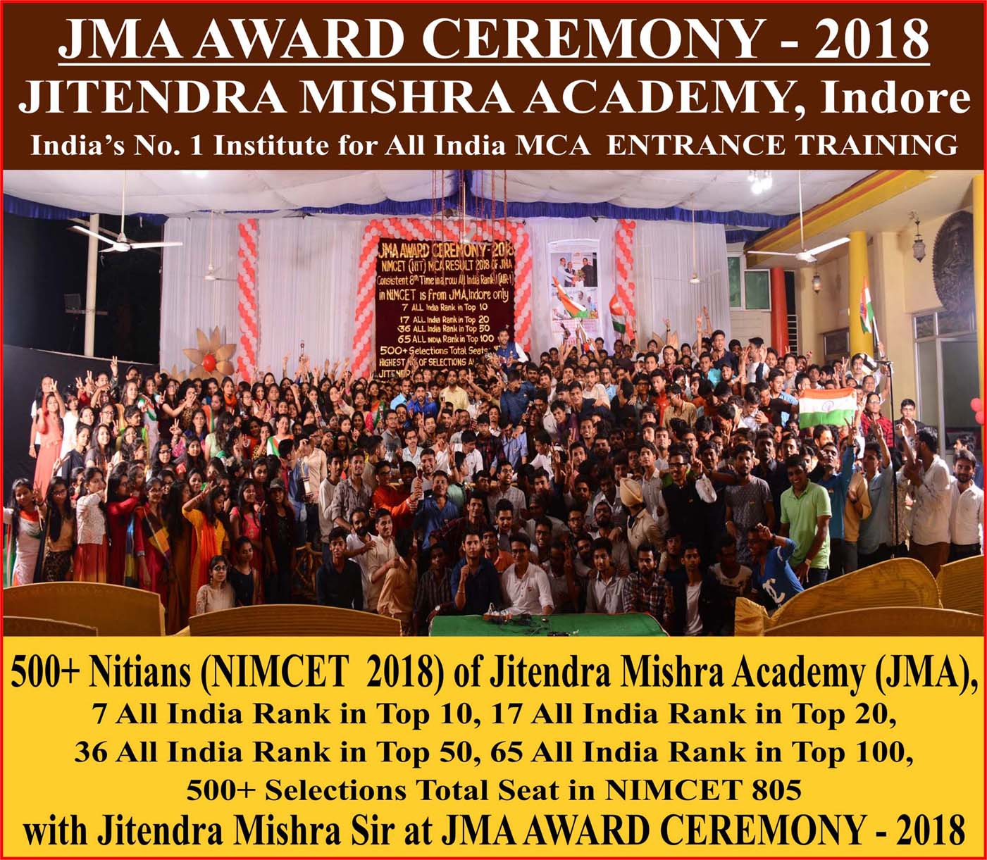 NIMCET 2018 students