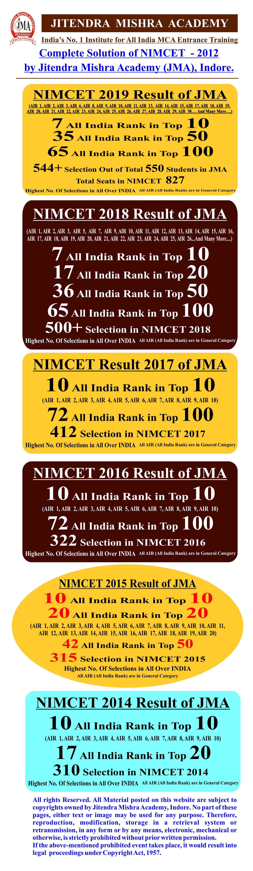 NIMCET - 2012 (SOLUTION)-01
