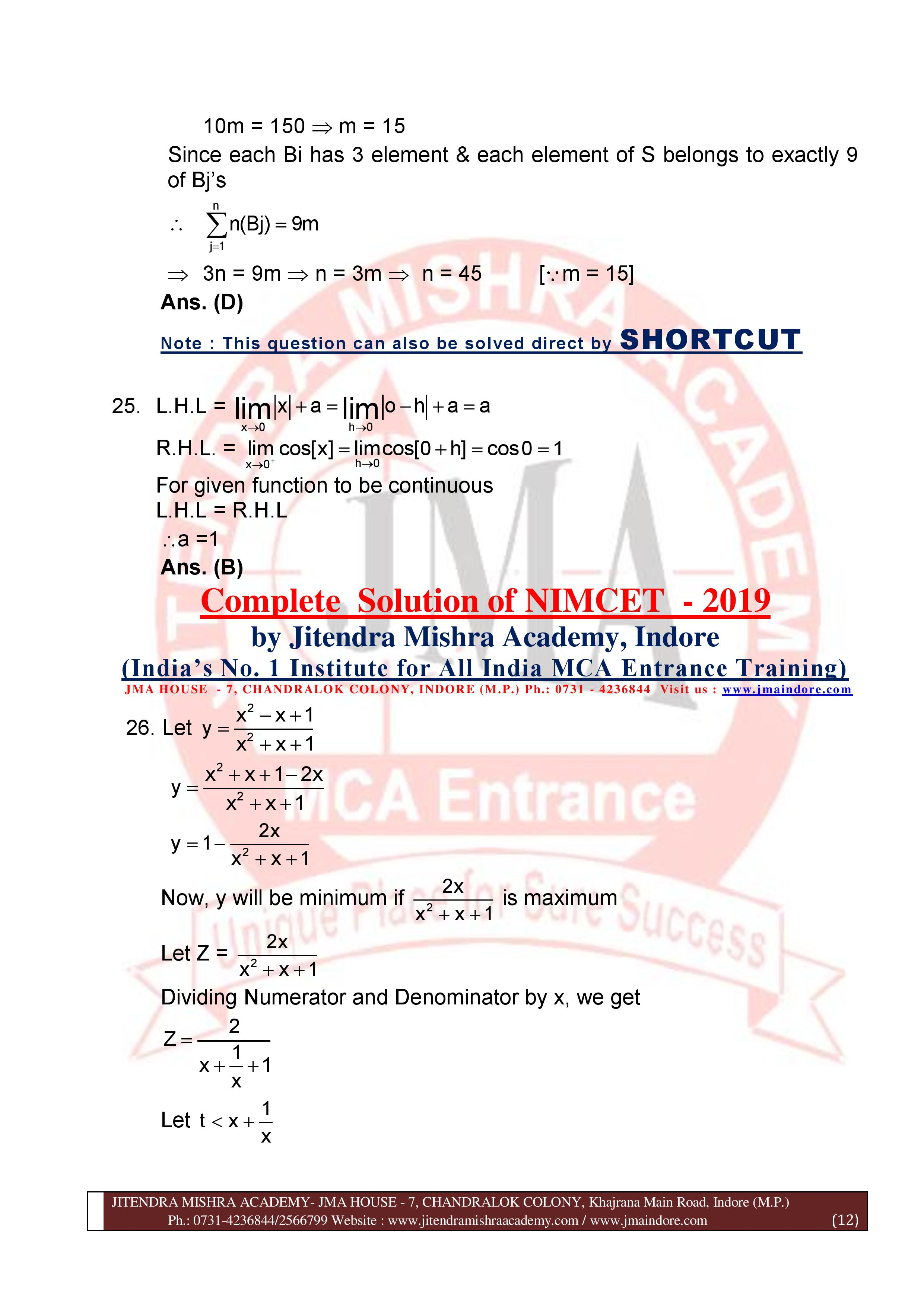 NIMCET 2019 SOLUTION (SET - A)-page-012