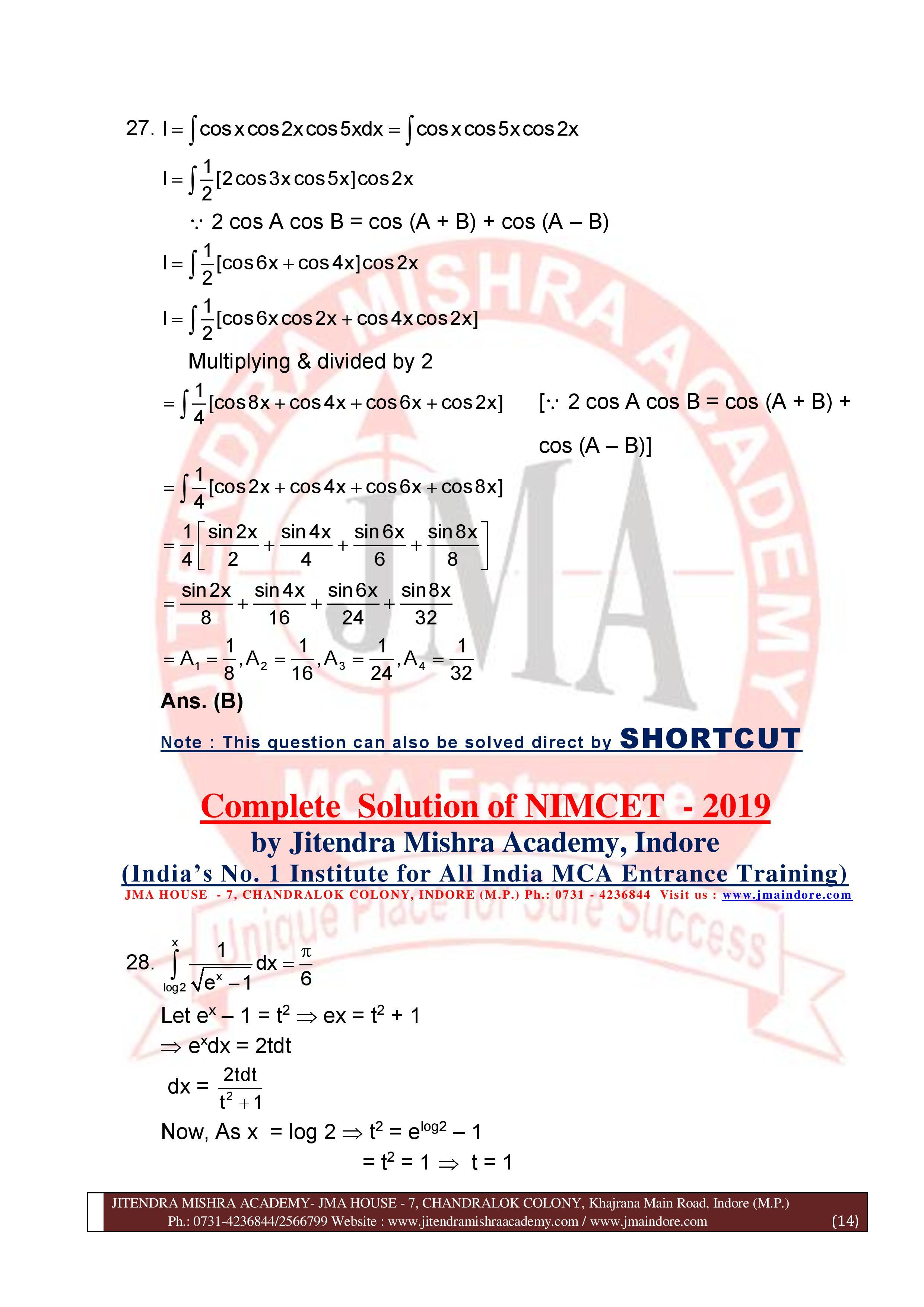 NIMCET 2019 SOLUTION (SET - A)-page-014
