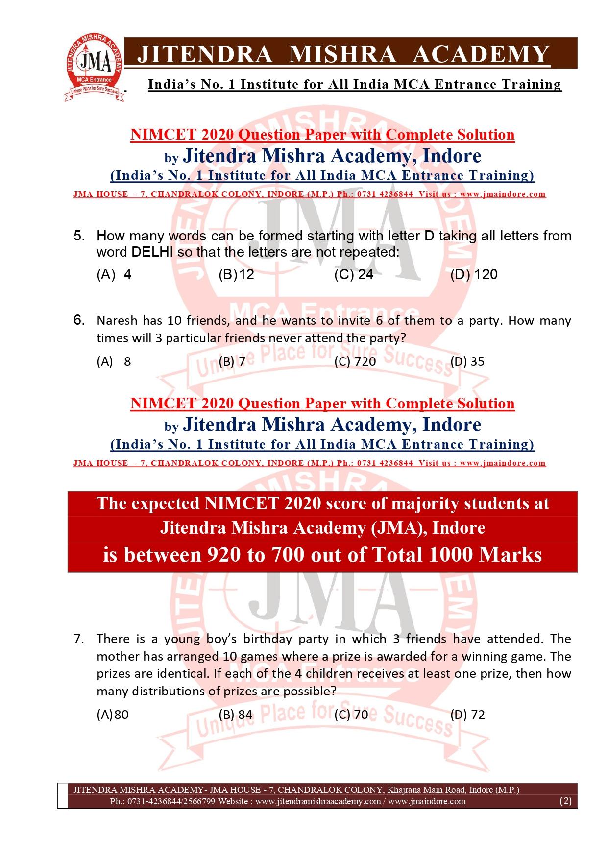 NIMCET 2020 QUESTION PAPER (FINAL)_page-0002