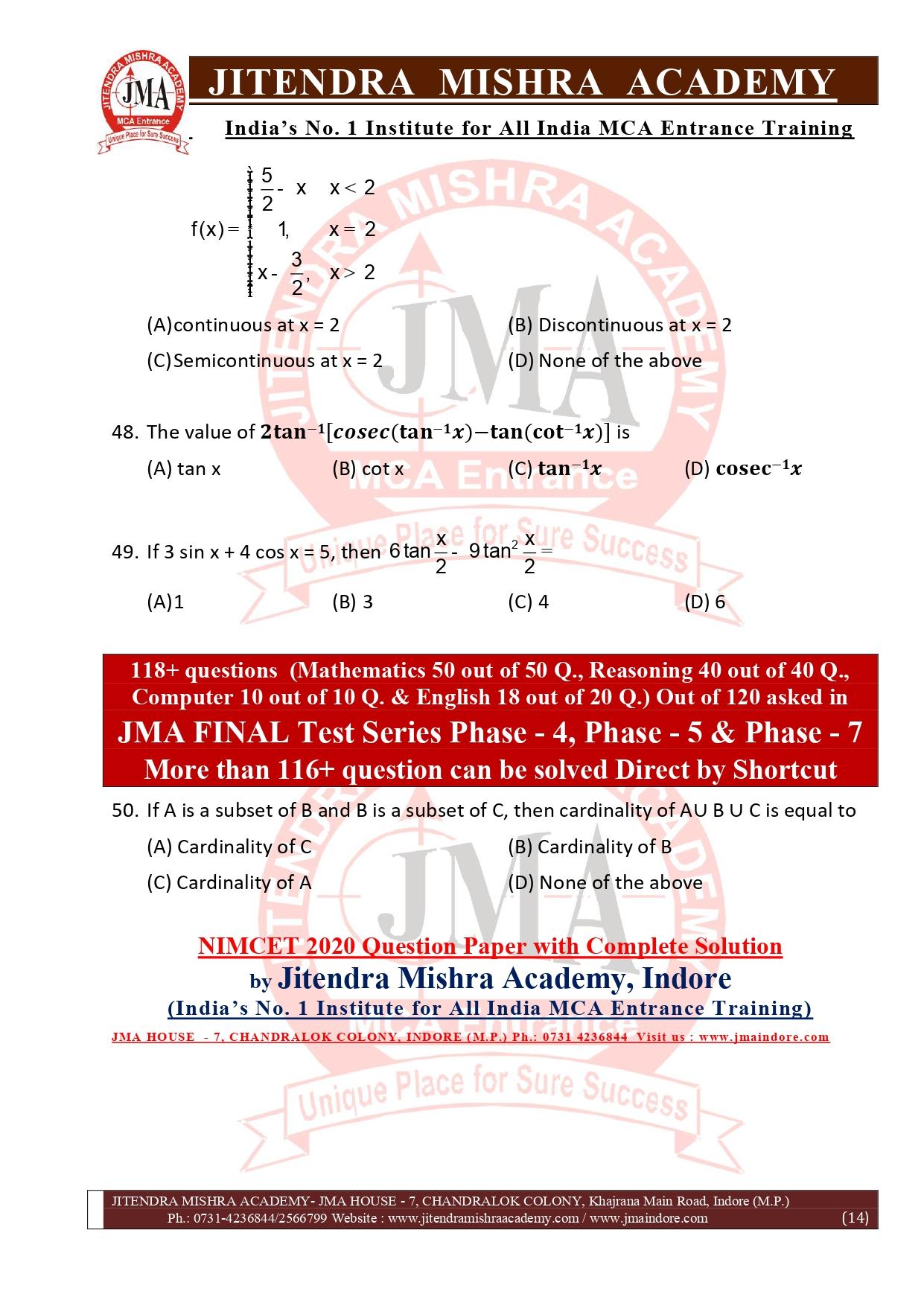 NIMCET 2020 QUESTION PAPER (FINAL)_page-0014