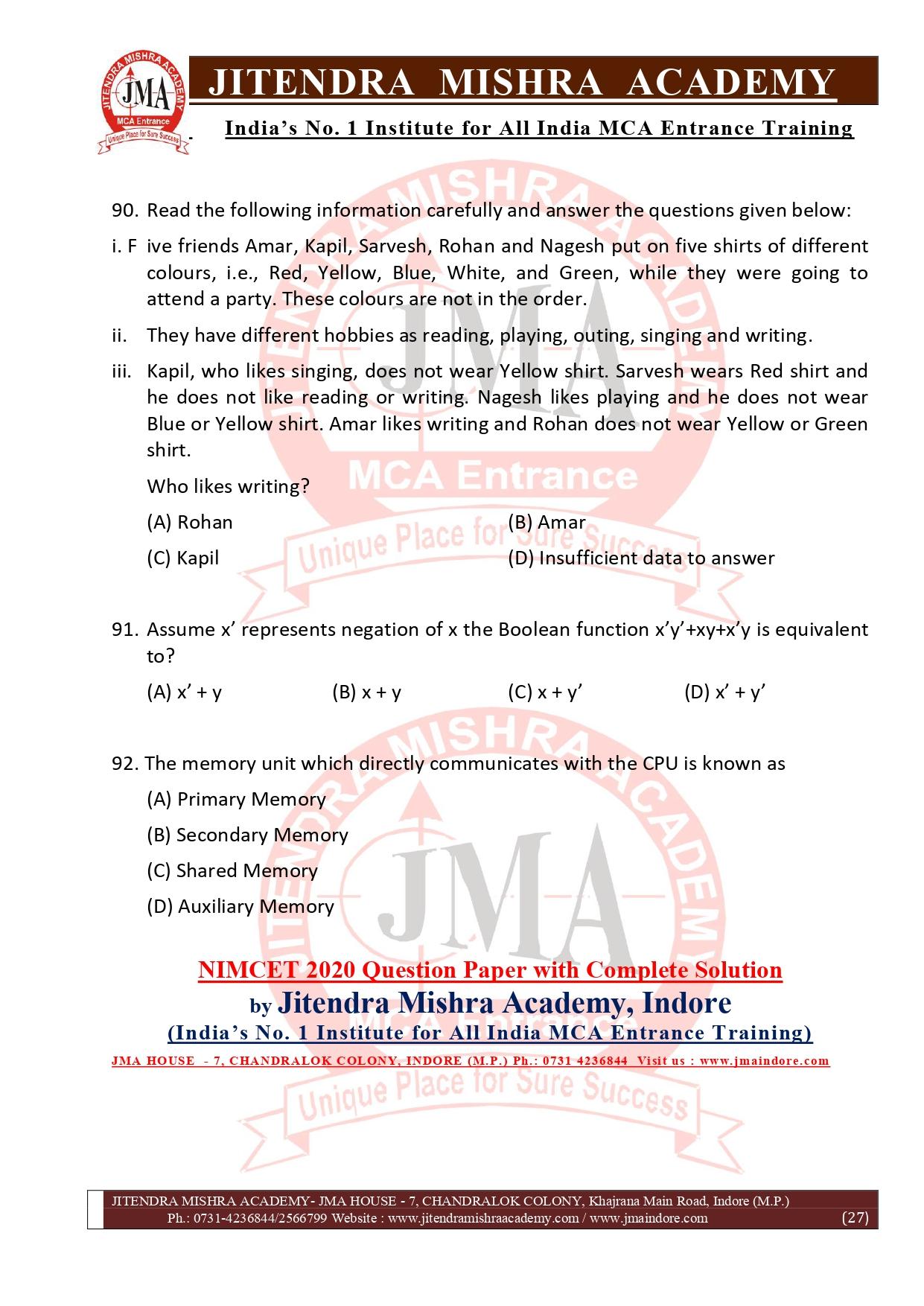 NIMCET 2020 QUESTION PAPER (FINAL)_page-0027