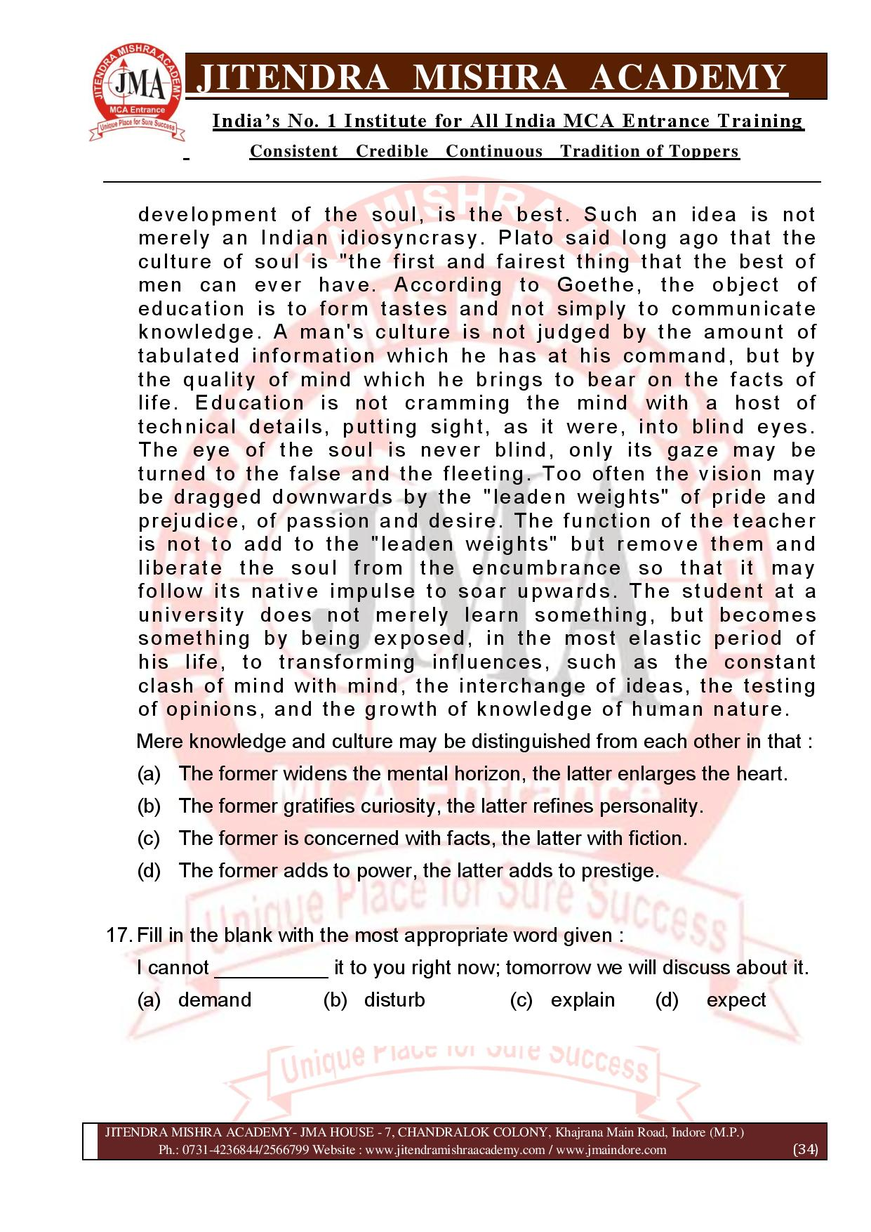 NIMCET 2021 QUESTION PAPER (F)-page-034