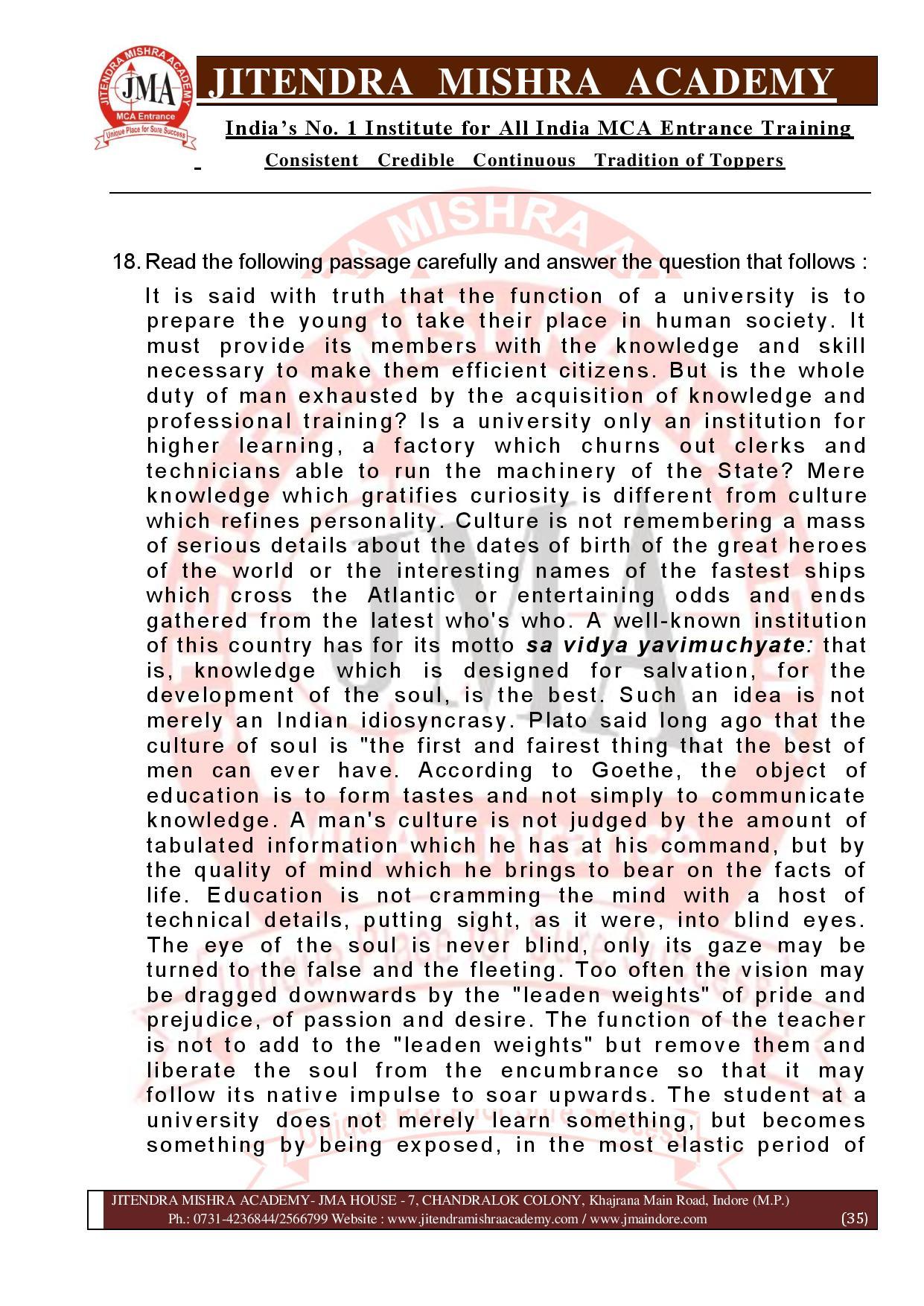 NIMCET 2021 QUESTION PAPER (F)-page-035